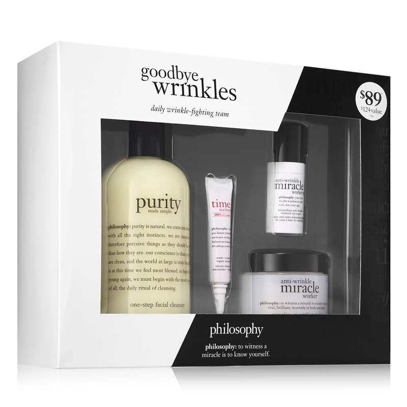 Image of Philosophy Goodbye Wrinkles Set