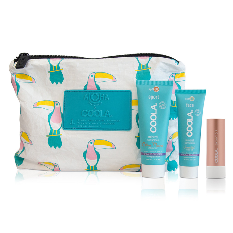 Image of COOLA Limited Edition Coola X Aloha SPF Travel Set