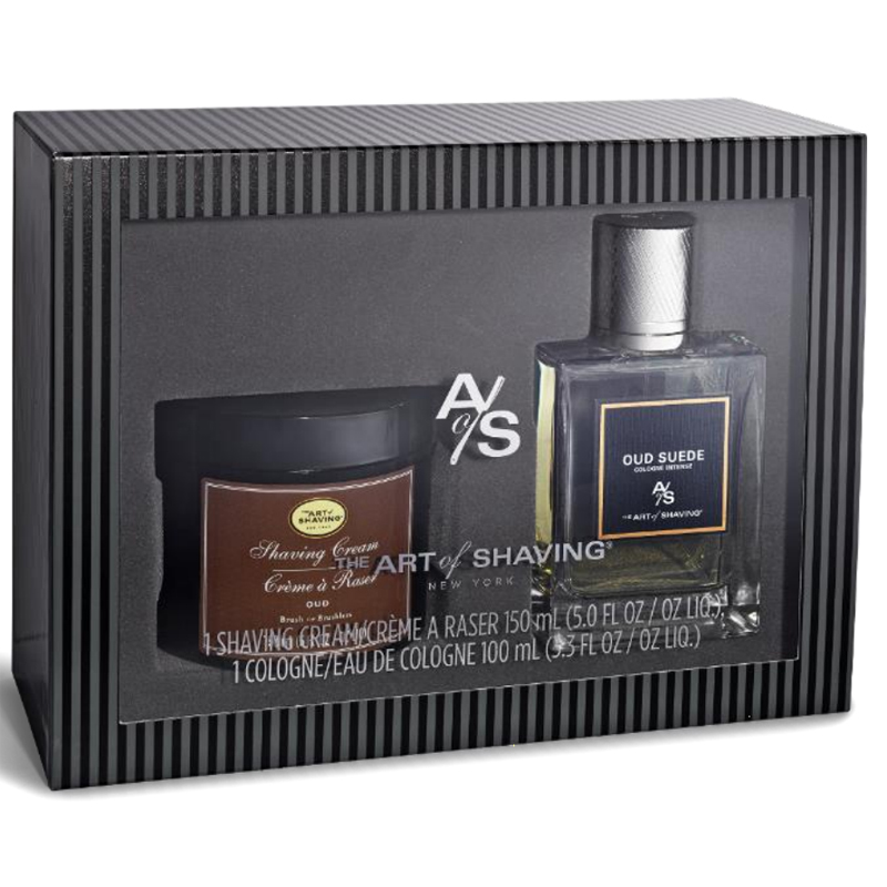 Image of The Art Of Shaving Oud Suede Fragrance Set