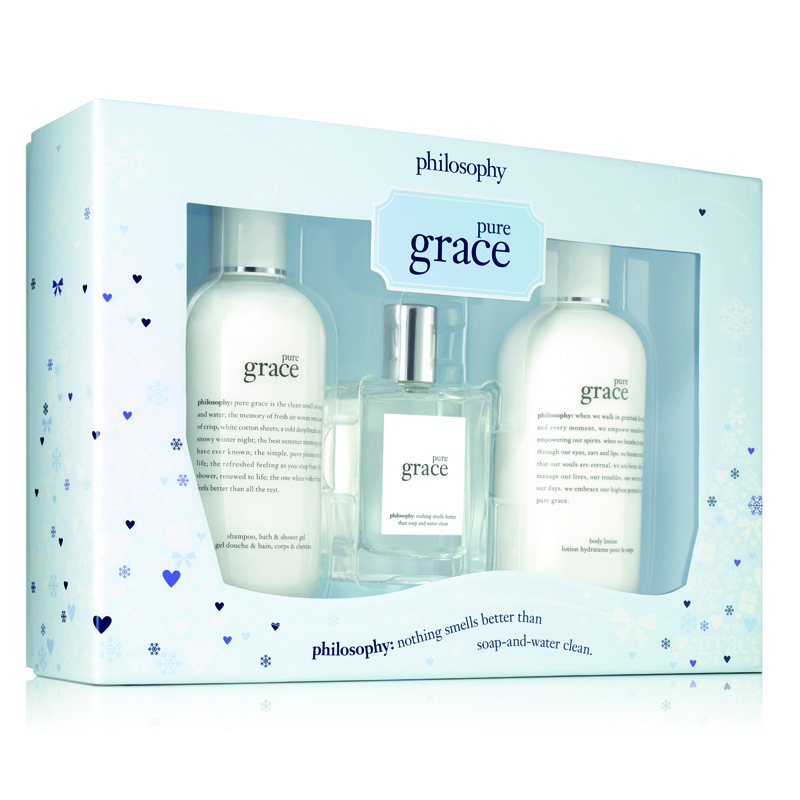 Image of Philosophy Pure Grace 3Piece Gift Set Holiday 2017