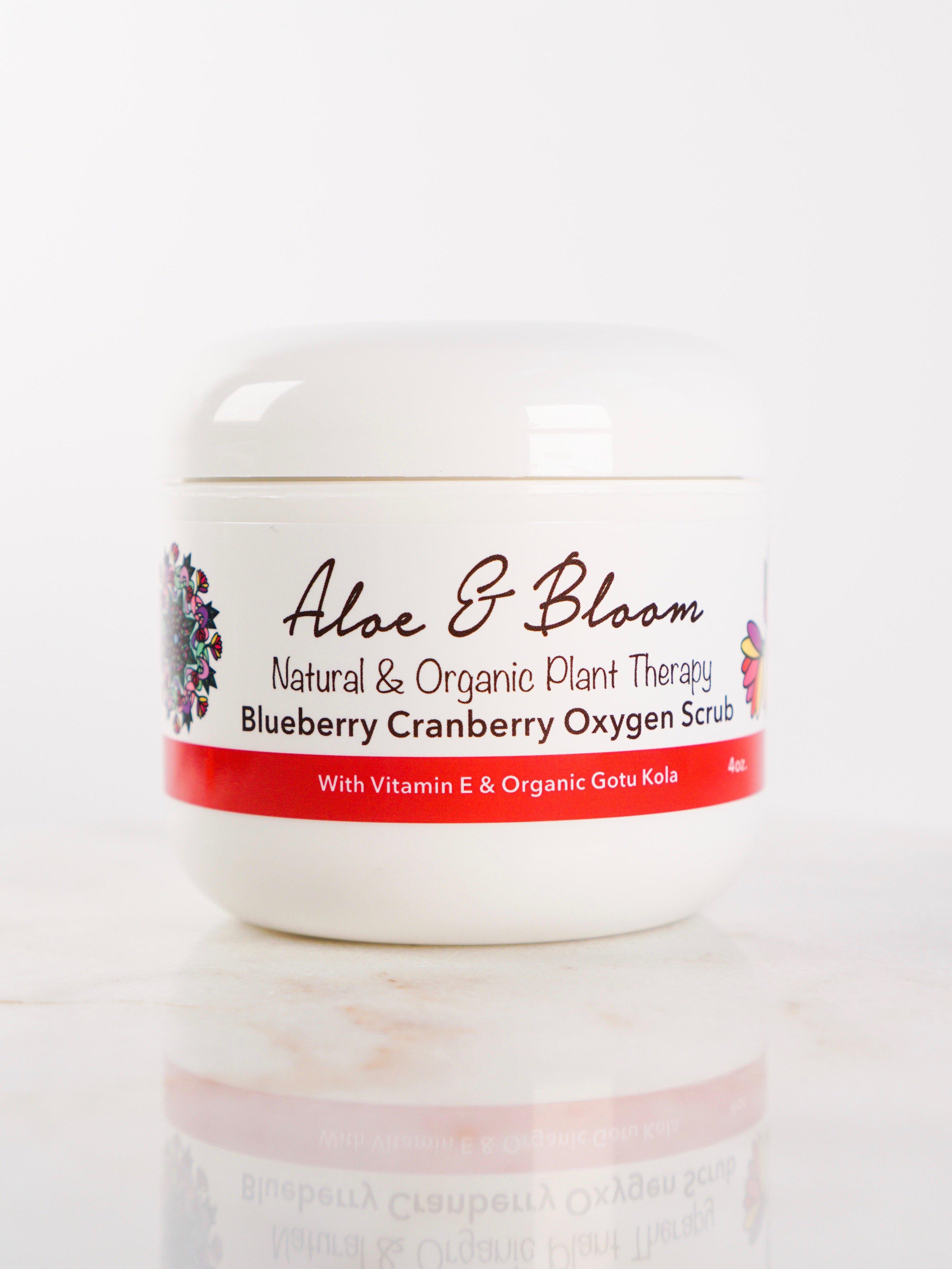 Image of Aloe & Bloom Blueberry Cranberry Oxygen Scrub