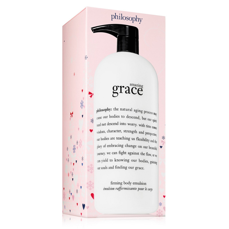 Image of Philosophy Amazing Grace Firming Body Emulsion Jumbo Limited Edition Holiday 2017