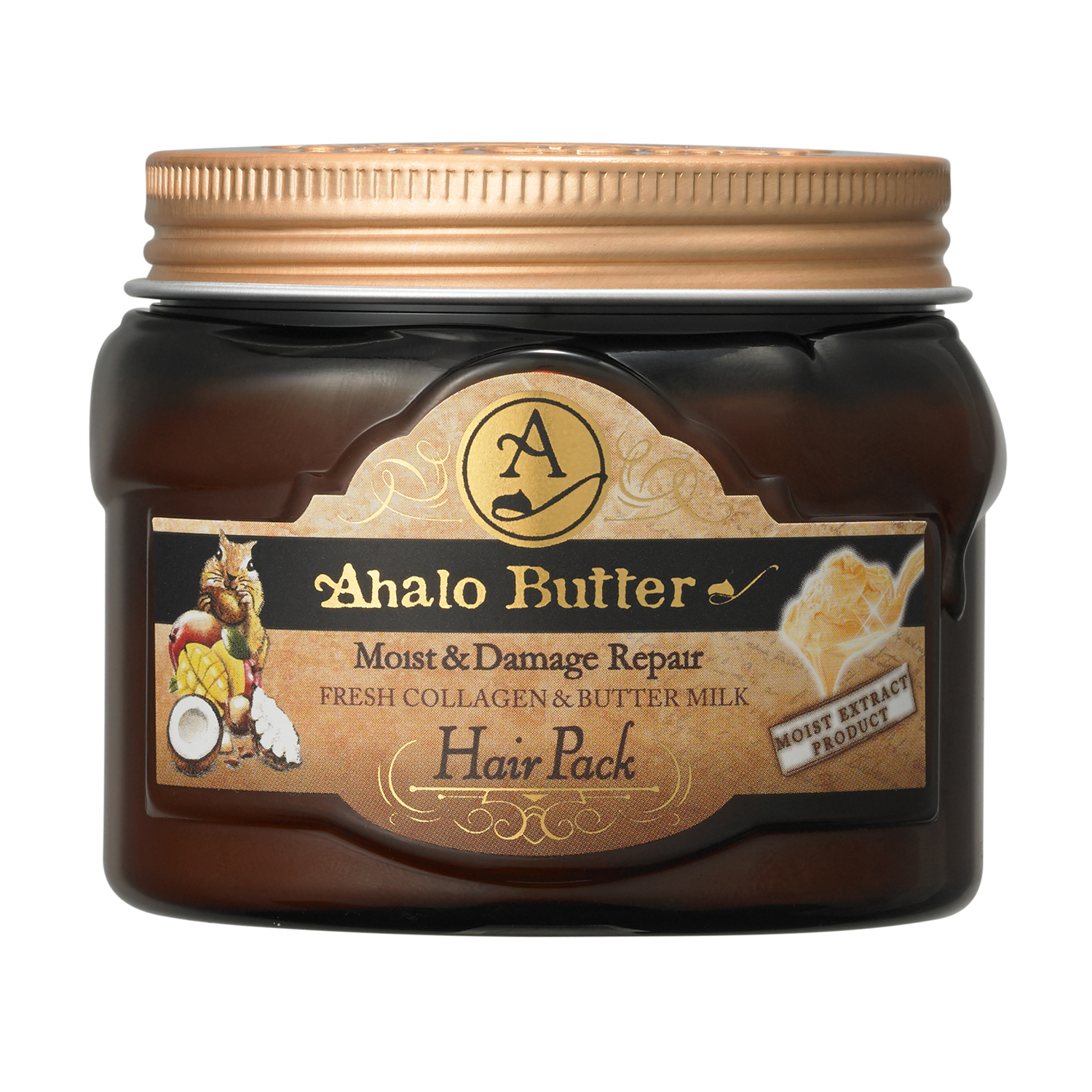 Ahalo Butter's richest, most concentrated formula with 6 different butters and 15 types of oils penetrates deep into the core to deliver intense hydration and damage repair with noticeable results after just one use.*Imported from JapanNet Weight: 150 g / 5.29 oz.