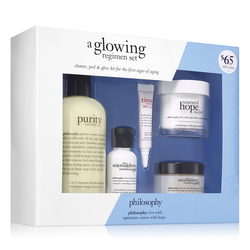 Image of Philosophy A Glowing Regimen Set