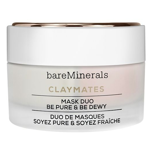 BareMinerals  Claymates Mask Duo Be Pure And Be Dewey