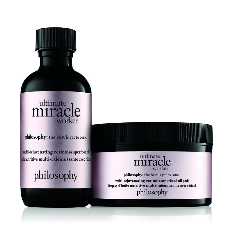 Image of Philosophy Ultimate Miracle Worker MutiRejuvenating Retinol  Superfood Oil And Pads