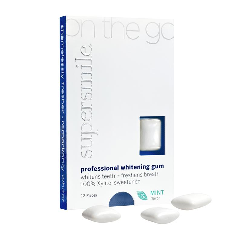 Supersmile  Whitening Gum OnTheGo Mint NSUP000044S00