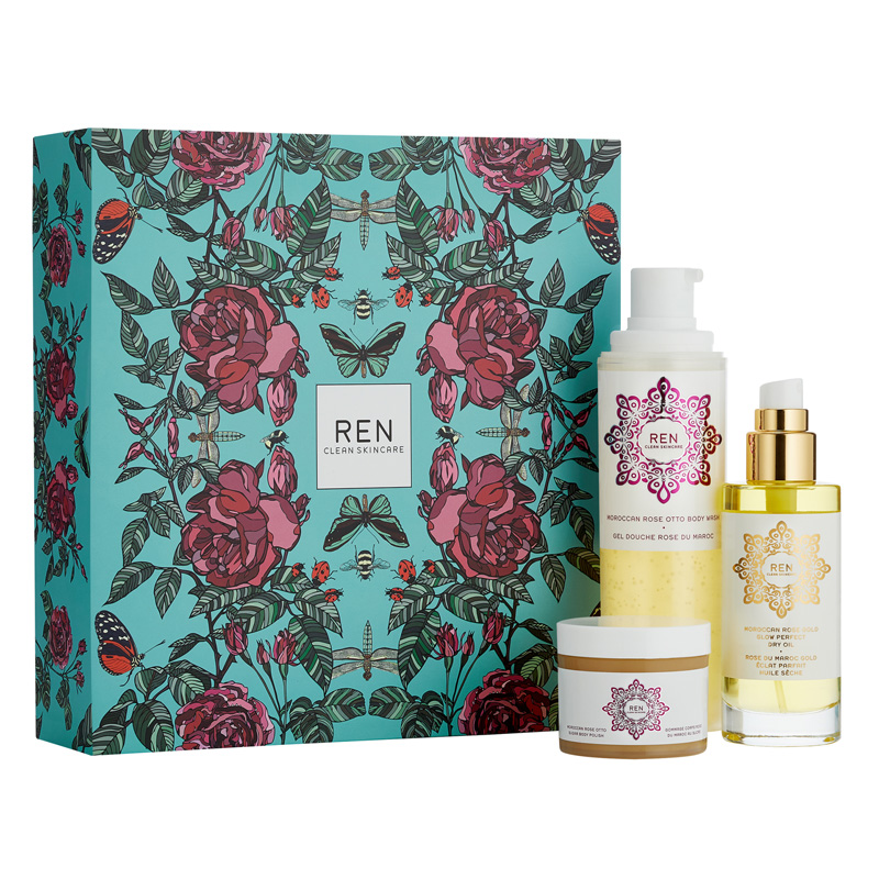 Image of REN Tis The Season To Feel Rosey Gift Set