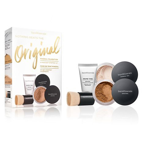BareMinerals Nothing Beats The Original Mineral Foundation 4Piece Get Started Kit Medium Tan 18