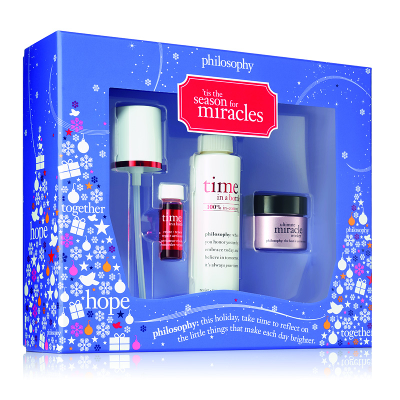 Image of Philosophy Tis The Season For Miracles Gift Set