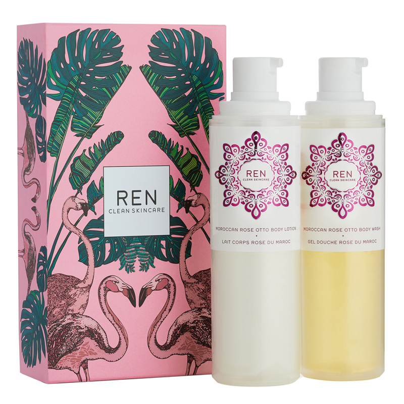 Image of REN Rose To The World Gift Set