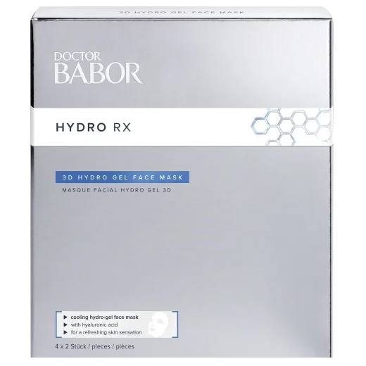 Image of BABOR Doctor Babor Hydro Rx 3D Hydro Gel Face Mask 4 Pack