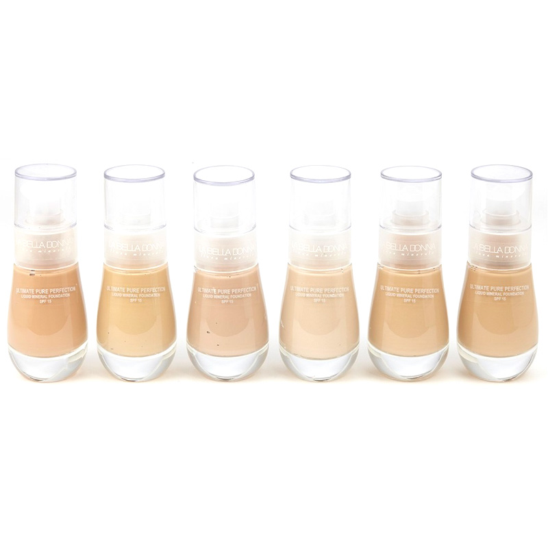 Image of La Bella Donna Ultimate Pure Perfection Liquid Mineral Foundation SPF 15 Caterina