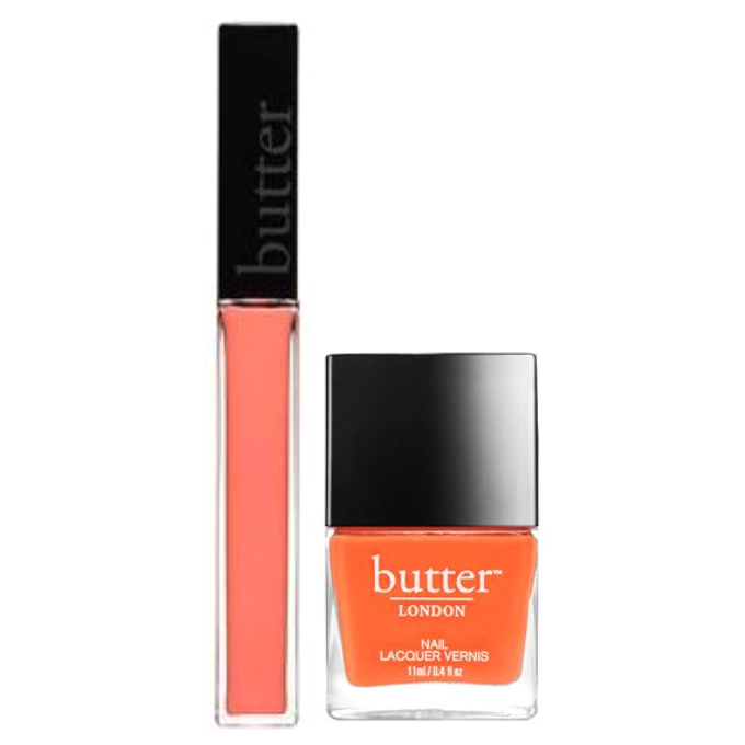 Butter LONDON  Coral Crush Lips And Tips Set NBLD000317S00