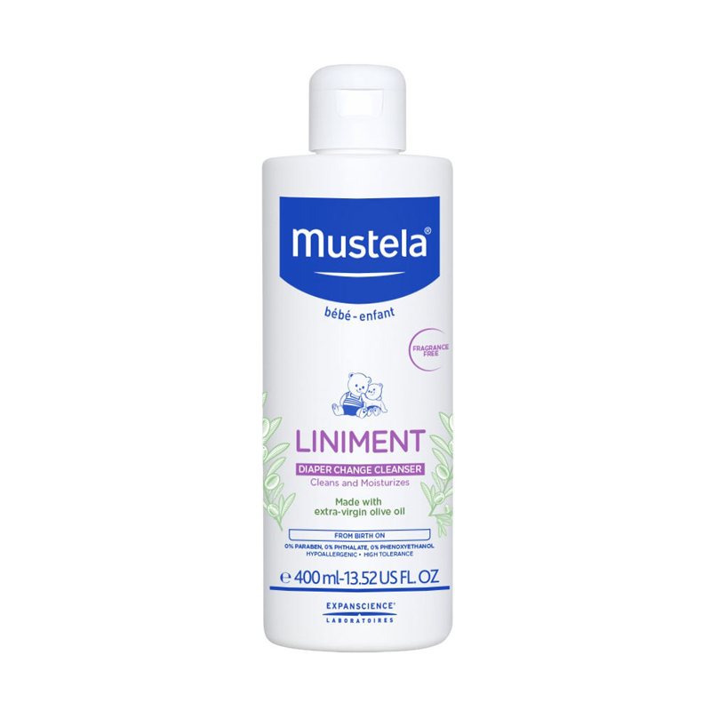 Mustela Liniment Diaper Change Cleanser (13.52 Oz.)