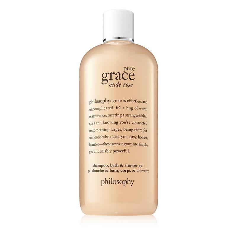 Philosophy Pure Grace Nude Rose Shampoo, Bath And Shower Gel