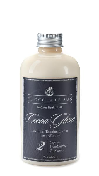 Image of ChocolateSun Cocoa Glow Sunless Tanning Face  Body medium To Dark Skin Tones