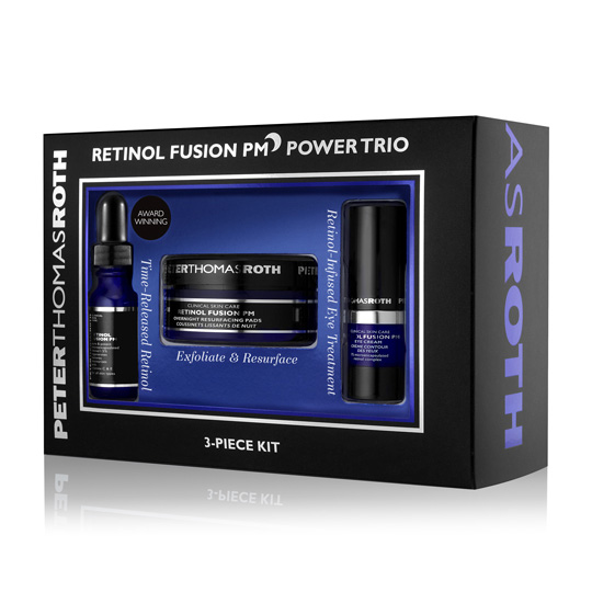 Image of PETER THOMAS ROTH Retinol Fusion PM Power Trio