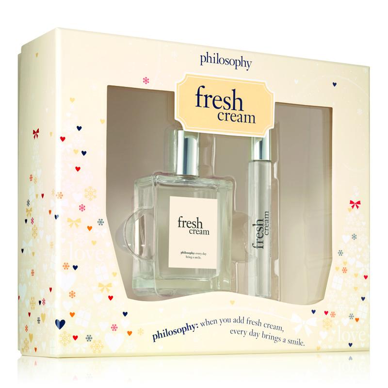 Image of Philosophy Fresh Cream Fragrance Duo Holiday 2017