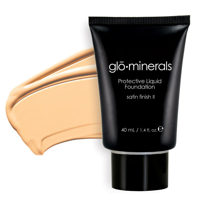 GloMinerals  GloProtective OilFree Liquid Base (Satin II)  Cocoa Medium