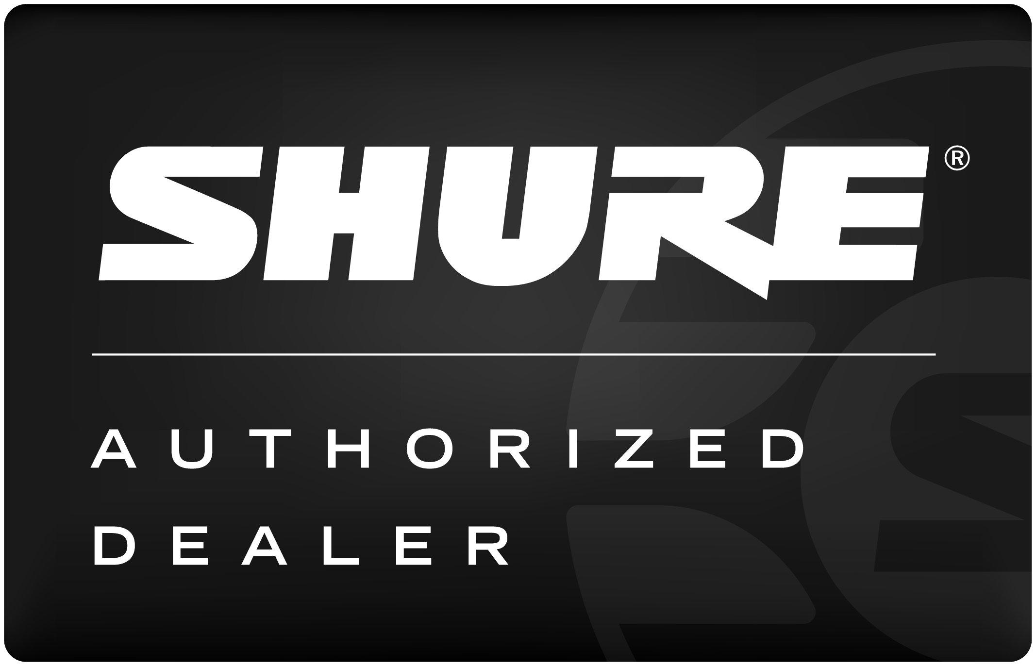SHURE authorized dealer